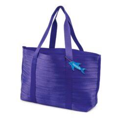PURPLE NEKDOODLE® BEACH BAG TOTE