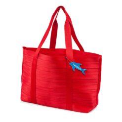 RED NEKDOODLE® BEACH BAG TOTE
