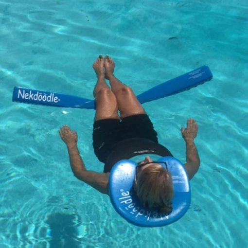 Blue Nekdoodle® with Pool Noodle